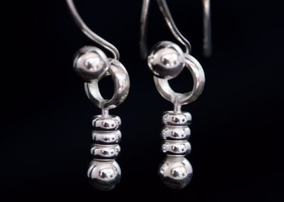 Silver Dangle Earrings (one off)