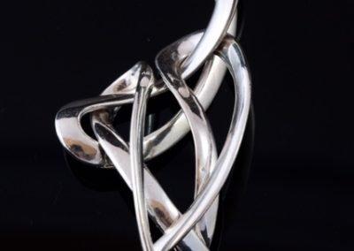 'Silver Ribbons' Pendant